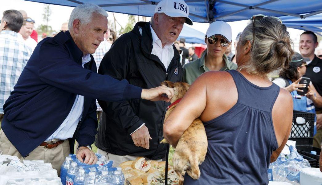 En Florida, Trump reitera que EU necesita un muro en frontera