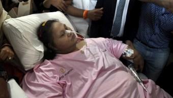 Muere la mujer más obesa del mundo; llegó a pesar 500 kilos