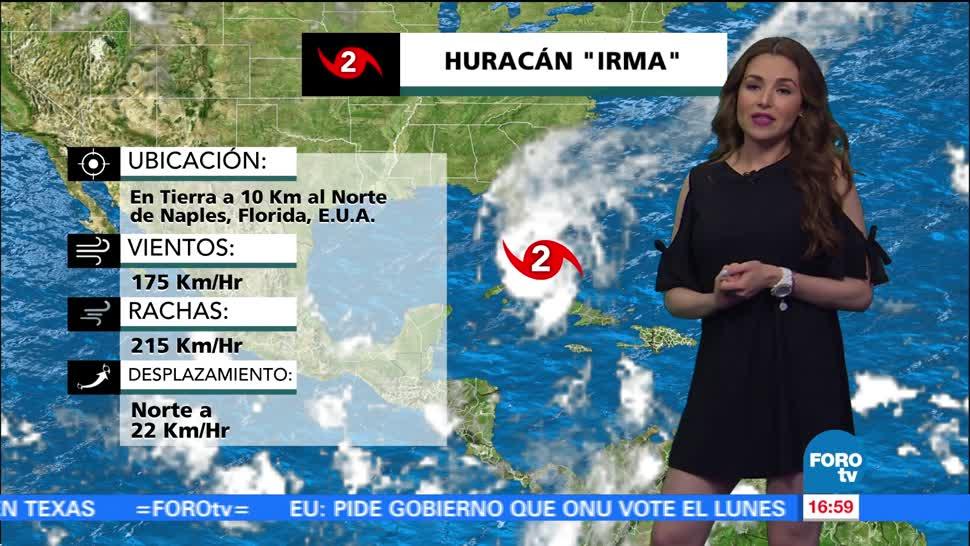 Clima Noticias Mayte Carranco Huracán Irma