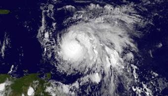 El huracán 'María', a su paso por el Caribe