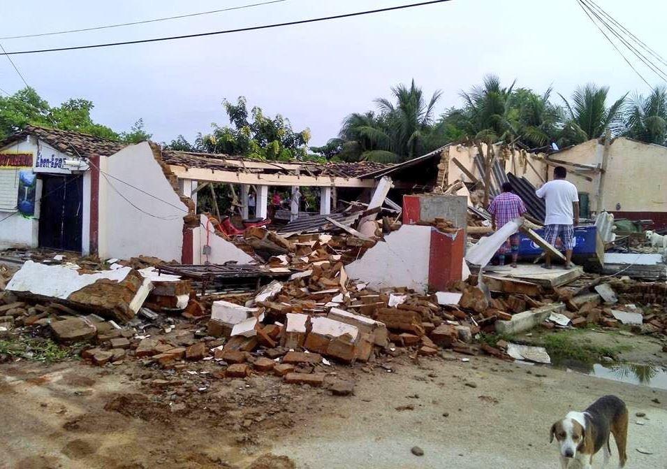sismo comunidad paredon chiapas tonala proteccion