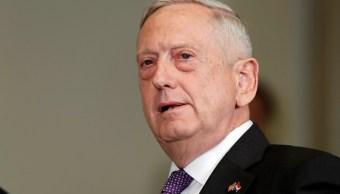 El secretario de Defensa de EU, Jim Mattis