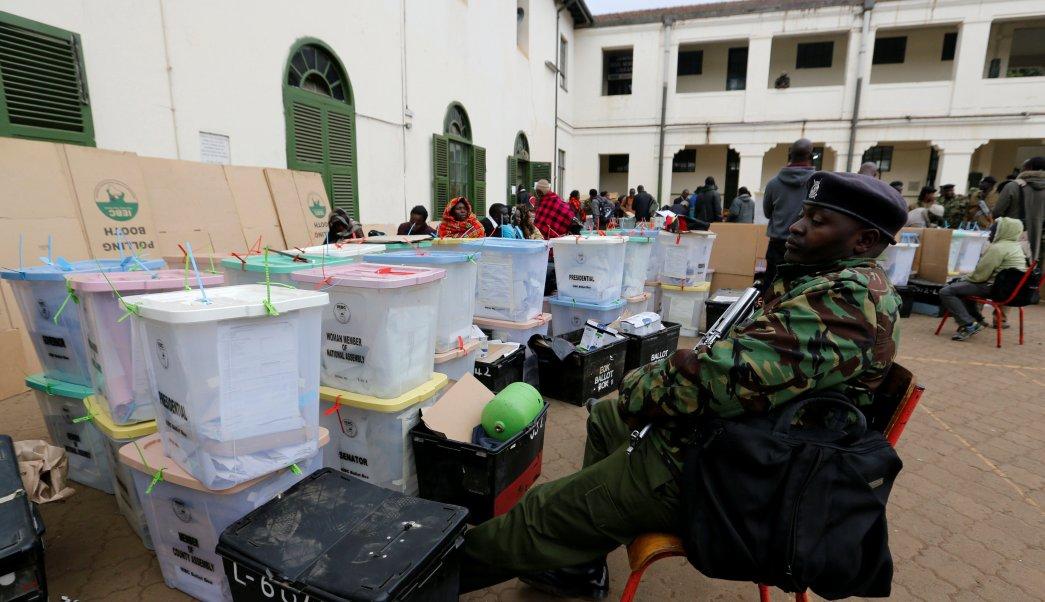 Kenia anuncia nuevas elecciones presidenciales octubre