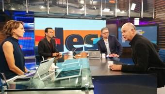 Enrique Krauze en el estudio de Despierta con Loret
