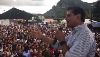 EPN se ratifica su solidaridad y apoyo a damnificados de Morelos