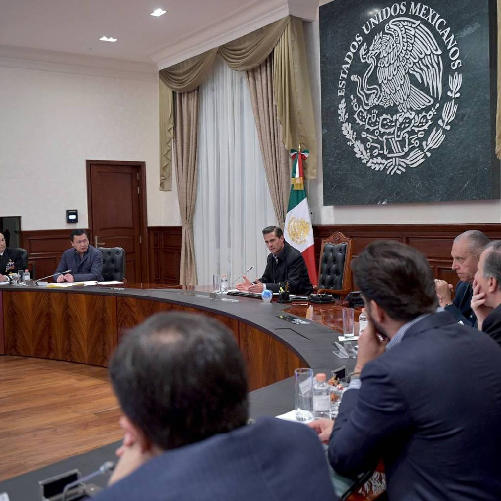 EPN se reúne con su Gabinete