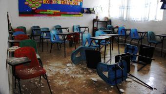 escuelas dañadas por los sismos en méxico