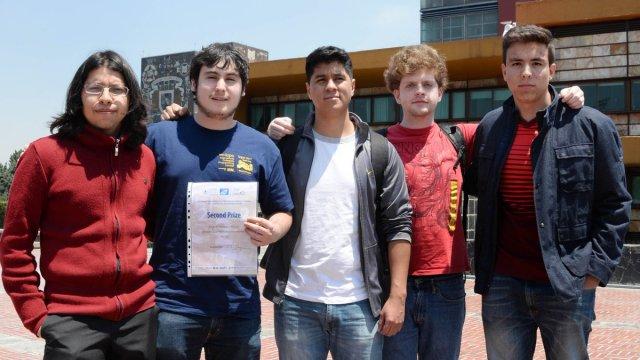 Estudiantes de la UNAM ganan concurso de matemáticas en America Latina