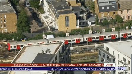 Explosión Metro Londres 20 Heridos Autoridades Investigan