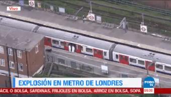 Explosión Metro Londres Provoca Estampida