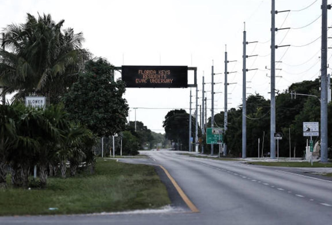 En vivo: el huracán Irma avanza en Estados Unidos