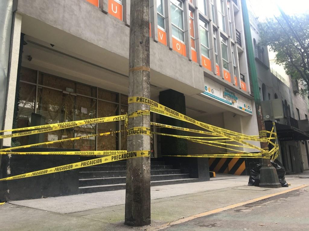 La colonia Condesa muy afectada por el sismo del 19 de septiembre