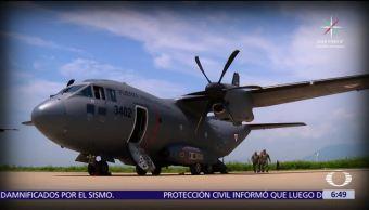 Fuerza Aérea Mexicana Traslada Heridos Sismo