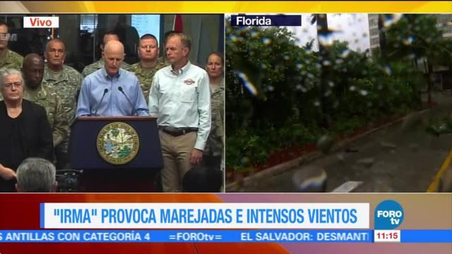 Gobernador Florida Trump Desastre natural