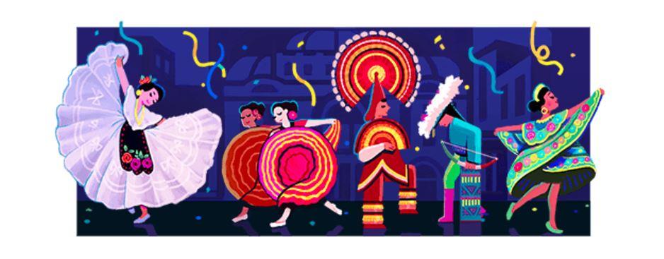 Google recuerda a Amalia Hernández con un doodle