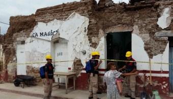 Reportan mil viviendas afectadas por sismo en Guerrero
