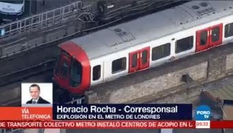 Al Menos 18 Heridos Explosión Metro Londres