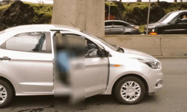 Homicidio de hombre en carriles centrales de Periférico Sur, CDMX