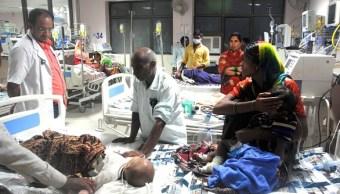 Investigan muerte de medio centenar de niños en hospital de la India