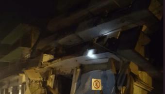 Sismo hotel matías romero Oaxaca labores rescate