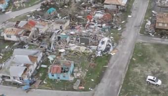 Huracan Irma deja muerto y destruccion Barbuda