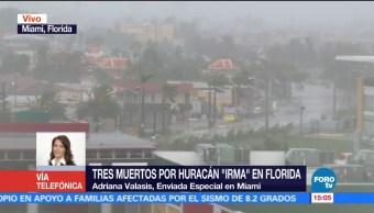 Huracán Irma Impacta Fuerza Florida