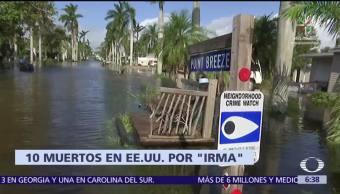 Huracán Irma Degrada Depresión Tropical