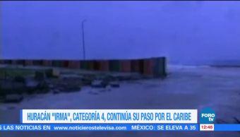 Huracán Irma sigue su paso por el Caribe