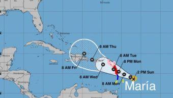 Huracán 'María' amenaza Puerto Rico y las Islas Vírgenes