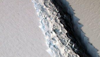 iceberg gigante, calentamiento global, cambio climático, Antártida