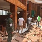Sismo deja daños en monumentos históricos e iglesias en Chiapas