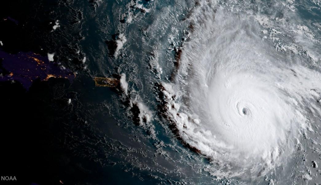 NASA difunde imagen del potente huracn Irma en el Caribe  Por