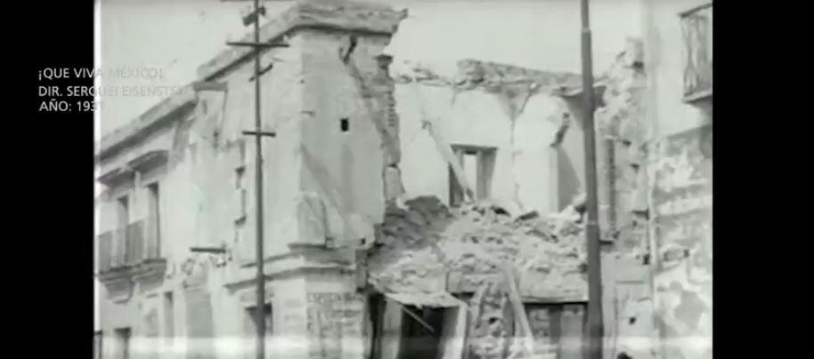 Imágenes del terremoto en Oaxaca de 1931