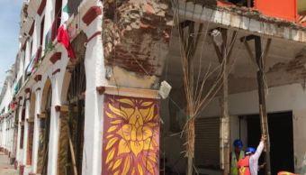 trabajos inmuebles historicos sismos inah secretaria