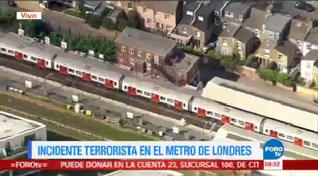 Incidente Terrorista Metro Londres Incidente Terrorista