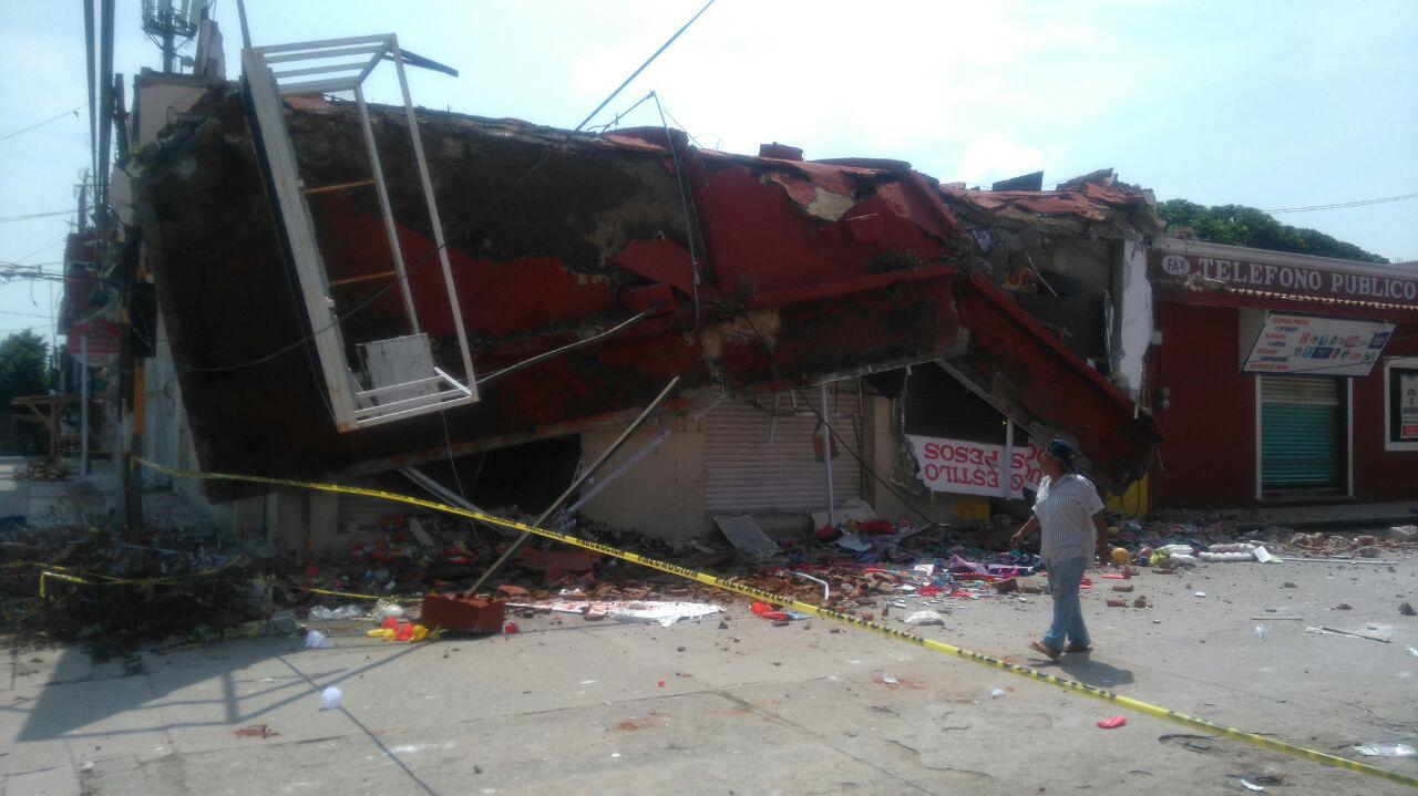 Realizan valoración inmuebles Oaxaca nuevo sismo