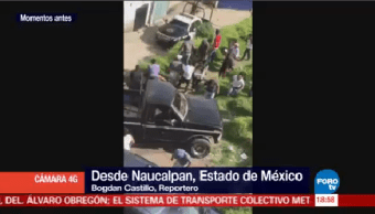 Intento Linchamiento Deriva Bloqueo Carretera Naucalpan Toluca
