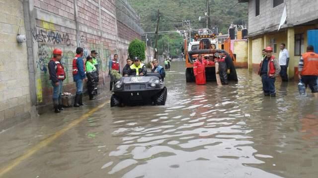 Declaran emergencia para Cuautitlán Izcalli por lluvias