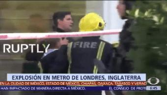Investigan Explosión Metro Londres Atentado Terrorista