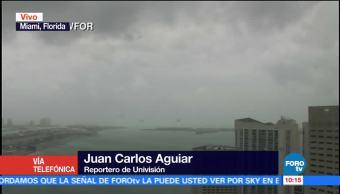 Irma Debilita Categoría 3 Huracán Vientos Sostenidos