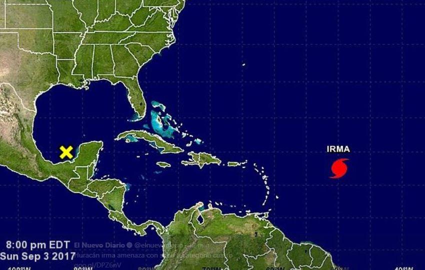 Puerto Rico mantiene la alerta ante la cercanía del huracán 'Irma'