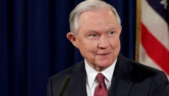 Jeff Sessions, fiscal general de Estados Unidos. (Reuters, archivo)