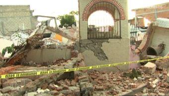 Colapsan 150 inmuebles en Jojutla, Morelos, por sismo de magnitud 7.1
