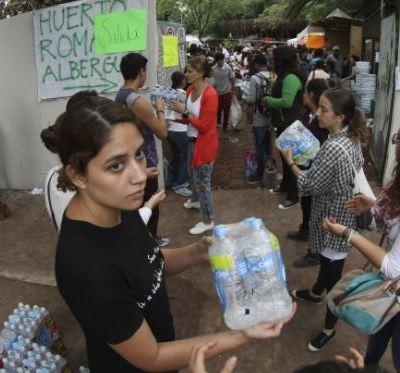 Millenials mexicanos muestran su solidaridad ante la emergencia por el sismo
