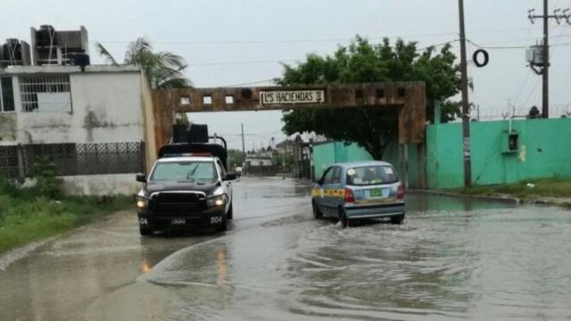 katia deja encharcamientos e inundaciones sur tamaulipas