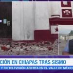 Llega ayuda humanitaria a damnificados por el sismo del jueves en Chiapas