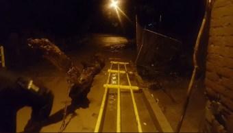 lluvias en oaxaca provocan daños en varias zonas