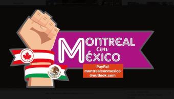 Los mexicanos radicados en Montreal crearon un grupo en Facebook