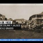 Los sismos más fuertes de México