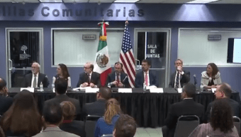Luis Videgaray inaugura módulos de salud mental en Los Angeles